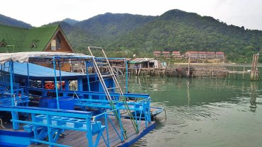 Jetty belonging to local fishermen