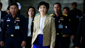 Former prime minister Yingluck Shinawatra.